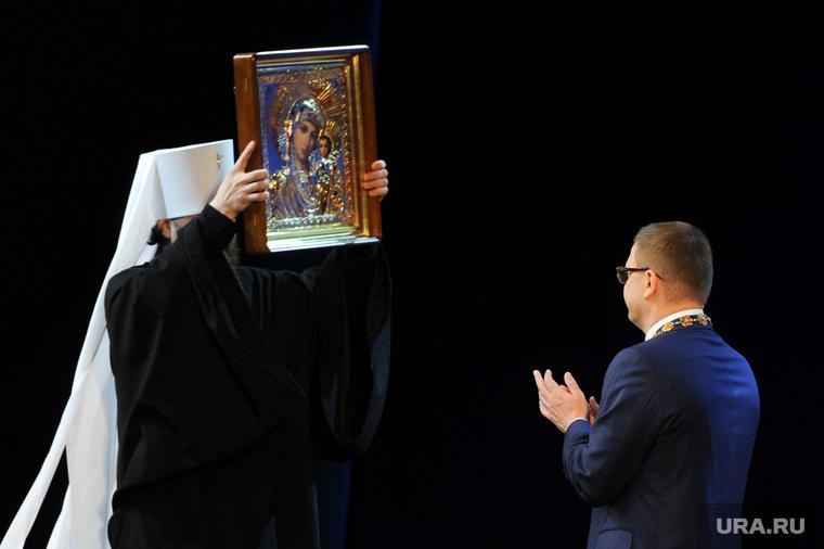 Инаугурация Алексея Текслера. Челябинск, текслер алексей, икона казанской божьей матери, митрополит григорий