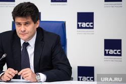 Пресс-конференция, посвященная подведению итогов года работы Александра Высокинского в должности главы города Екатеринбурга