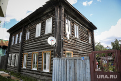 Аварийный дом № 21 по улице Орловская. Тюмень
