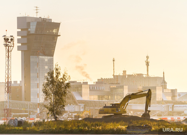 Очередной споттинг в Кольцово. Екатеринбург, аэропорт кольцово, раскопки, ремонт