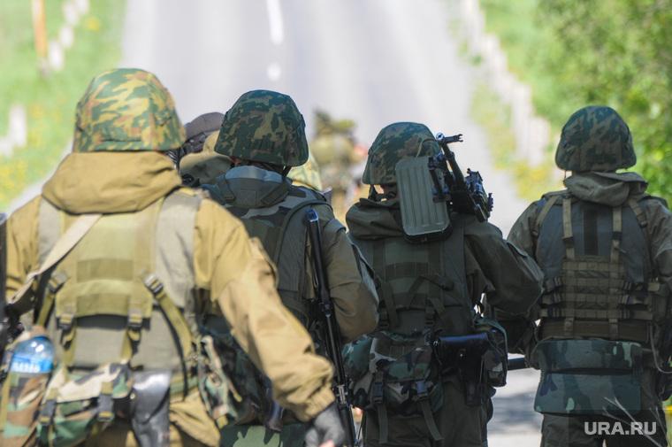 Солдаты, армия. Челябинск., армия, пулемет