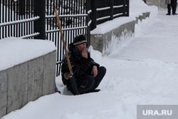 Уборка города от снега  Курган