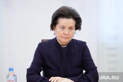 Рабочий визит губернатора ХМАО Натальи Комаровой в село Угут, Сургутский район.