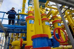 Отправка первой партии сжиженного природного газа автотранспортом из России в Казахстан. Екатеринбург