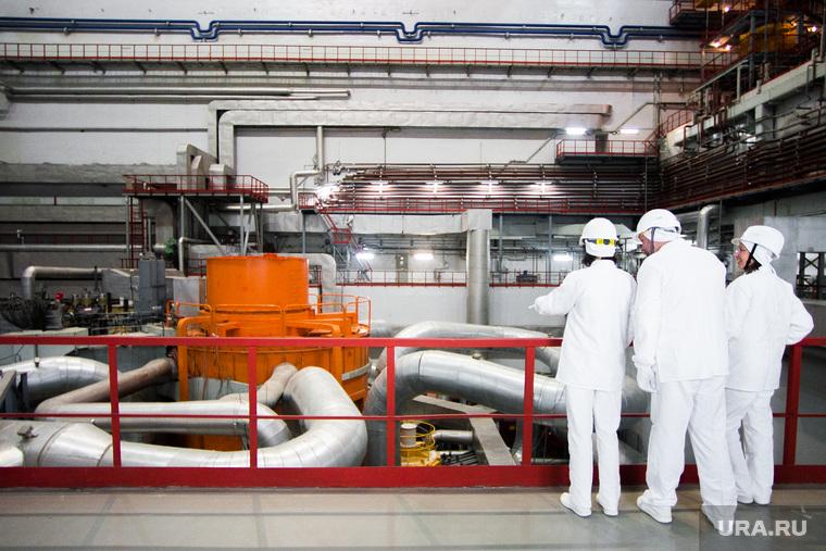Белоярская атомная электростанция имени И.В. Курчатова. Свердловская область, Заречный, бн-800, реактор, реактивная установка, энергоблок4, реактор бн-800, белоярская аэс, белоярская атомная электростанция, рабочие