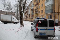 Место происшествия со стрельбой на пересечении улиц Вильямса и Писарева. Пермь
