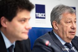 Пресс-конференция, посвященная проведению VI Международного форума высотного и уникального строительства 100+ Forum Russia и Всемирного дня городов. Екатеринбург