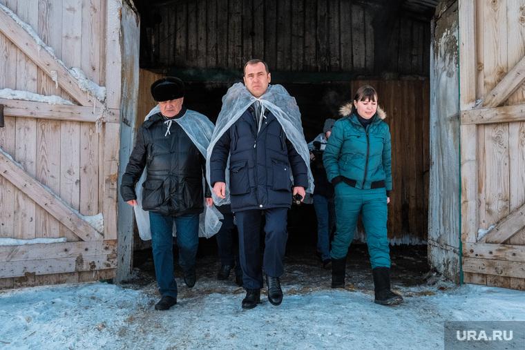 Визит врио губернатора в рабочий поселок Лебяжье. Курганская область, шумков вадим