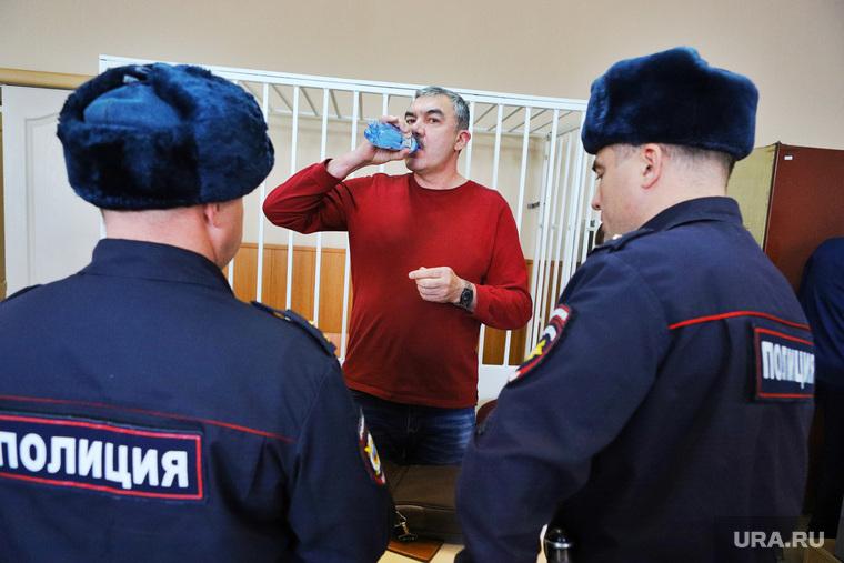 Оглашение приговора экс-начальнику УФСИН Ильясову Ильгизу. Курган