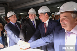 Открытие золотоизвлекающей фабрики. Челябинск.