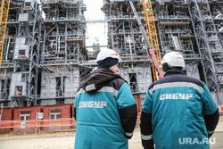 Строительство второй очереди завода СИБУР. Тобольск