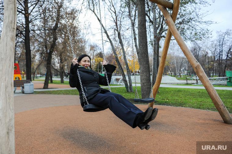 Выезд Натальи Котовой по объектам благоустройства Центрального района. Челябинск
