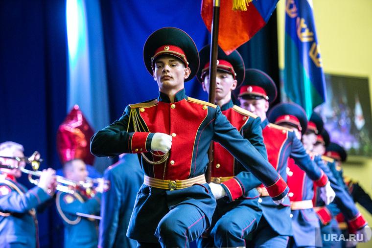 Праздничный концерт в Президентском Кадетском Училище посвященный 23 февраля. Тюмень