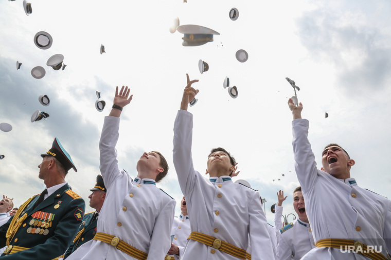 Выпускной Тюменского кадетского президентского училища. Тюмень