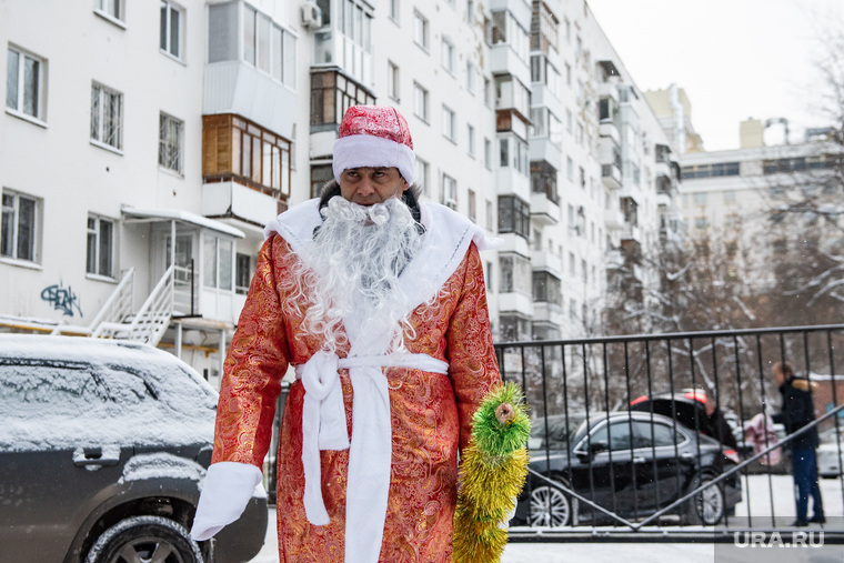 Александр Высокинский поздравляет горожан с наступающим Новым годом. Екатеринбург