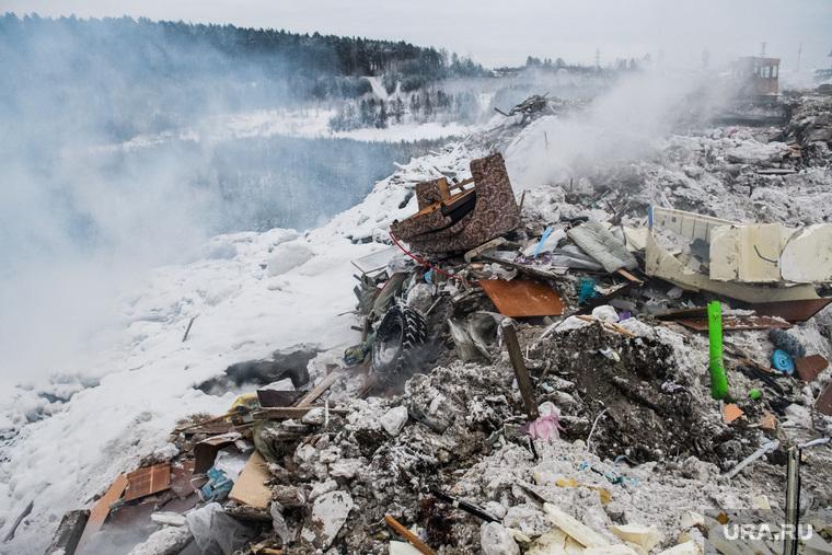 Пожар на несанкционированной свалке на Уралмаше. Екатеринбург, мусор, тбо, свалка, мусорный полигон, твердые коммунальные отходы, твердые бытовые отходы