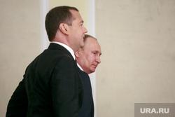 Представление Президентом России Владимиром Путиным Дмитрия Медведева на должность Премьер-министра в Государственной Думе. Москва
