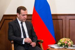 Встреча премьер-министра России  Дмитрия Медведева и губернатора ХМАО Натальи Комаровой. Ханты-Мансийск