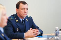 Пресс-конференция прокурора Виталия Лопина. Челябинск