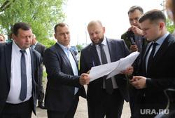 Визит врио губернатора Вадима Шумкова в Петуховский район. Курган