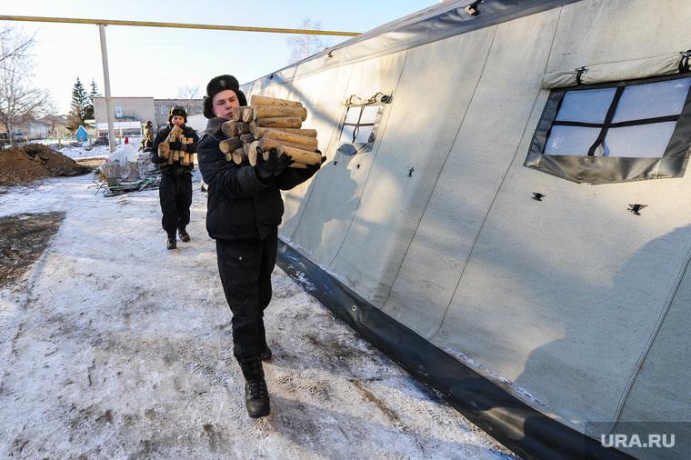 Клипарт. Отопление. Авария ЖКХ. Челябинск, зима, армия, военные, солдаты, отопление, новобранцы, призывники, палатка, дрова, служба
