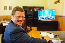 Челябинцы слушают послание Путина федеральному собранию. Челябинск