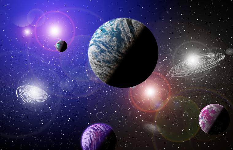 Клипарт depositphotos.com, космос, астрономия, планеты, галактика, вселенная