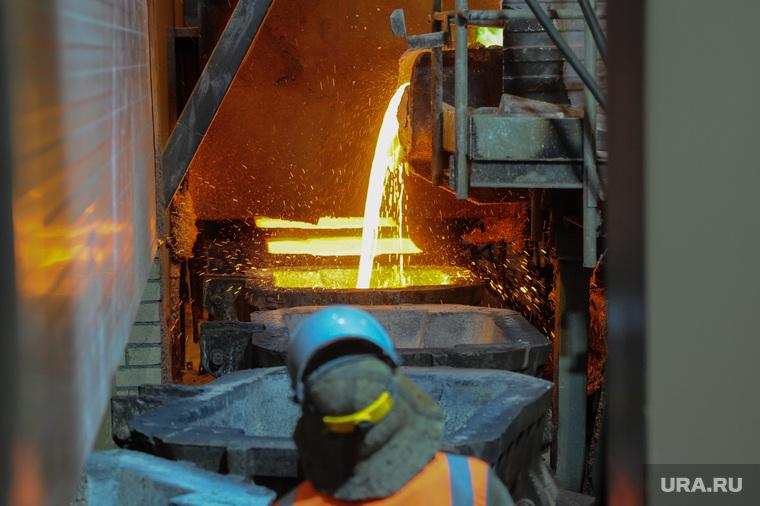 Пресс-тур по РМК и Карабашу. Челябинская область, металлургия, металл, печь, медь, розлив меди