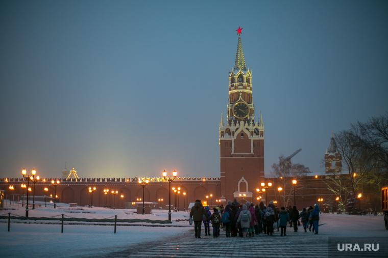 Новогодняя елка в Кремле. Москва, город москва, кремль, спасская башня