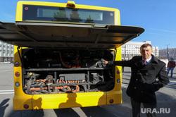 Презентация электробуса с двигателем Yutong. Челябинск