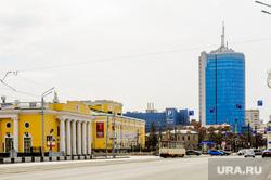 Пустой город. Обстановка в городе во время эпидемии коронавируса.. Челябинск