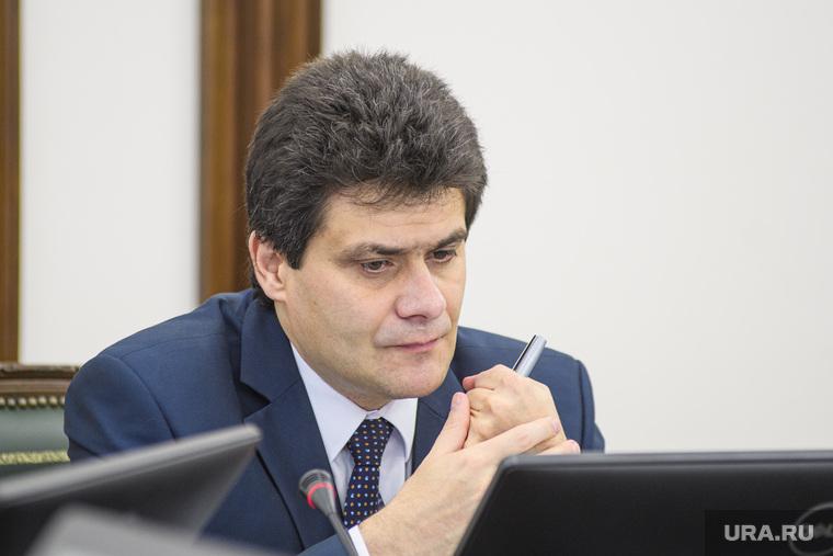 Заседание комитета по бюджету на 2020 год. Екатеринбург, высокинский александр