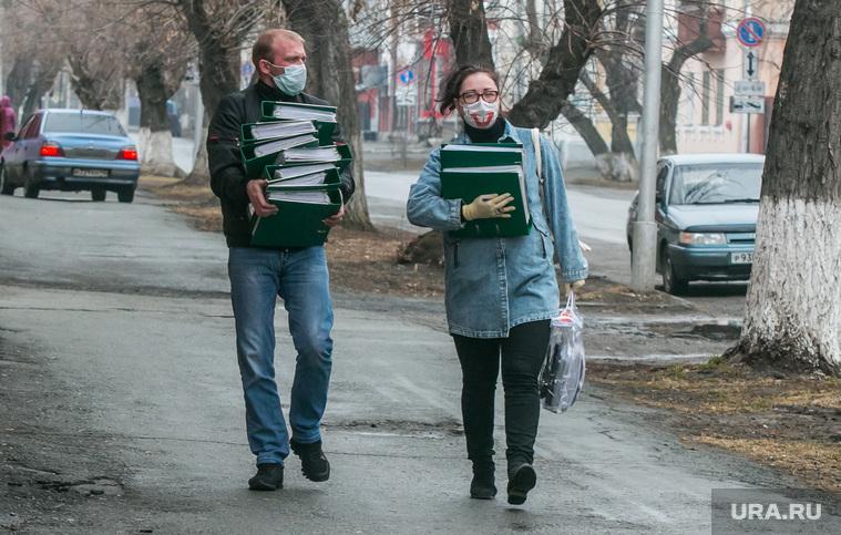 Разное. Курган, люди в масках, защитная маска, маска на лицо