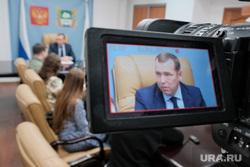Брифинг врио губернатора Курганской области Шумкова Вадима со СМИ
