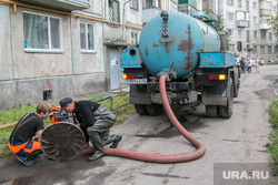 Авария водопровода. Курган