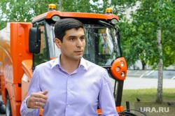 Презентация Уборочной комбинированной машины для дорожных служб. Челябинск