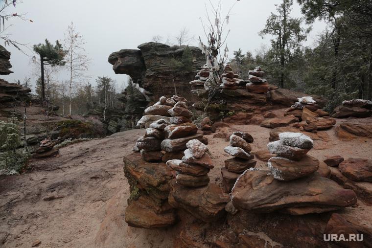 Каменный город, природная достопримечательность Прикамья. Пермь