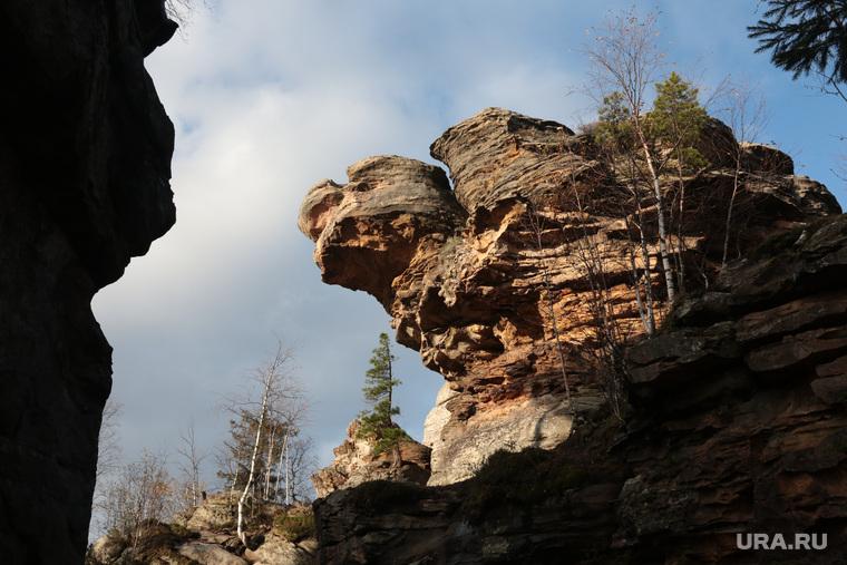 Каменный город, природная достопримечательность Прикамья. Пермь, каменный город, камень черепаха