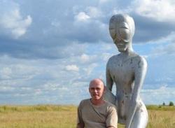 Уфолог Алексей Мартин в Молебке