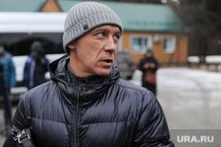 Рабочий визит Владимира Елистратова в Парк Гагарина. Челябинск