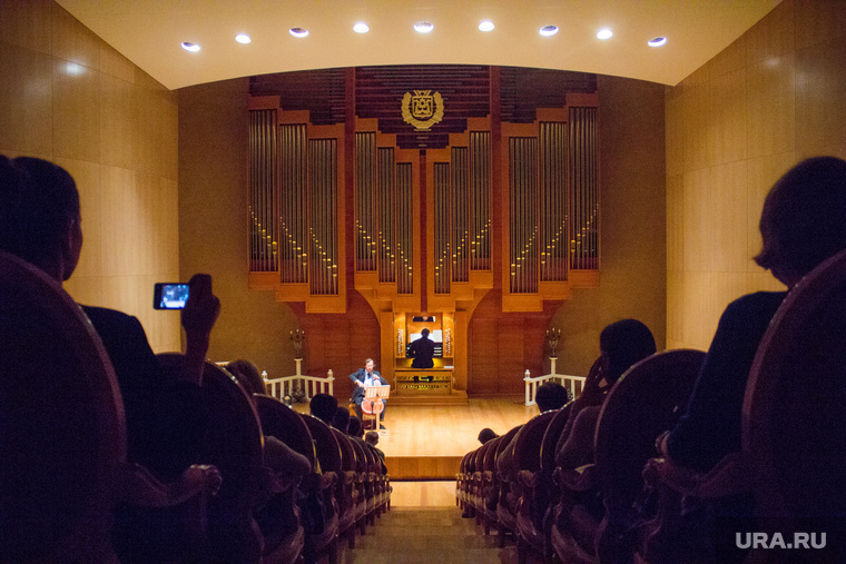 Орган и виолончель. Югра-Классик. Ханты-Мансийск, концерт, органный концертный зал