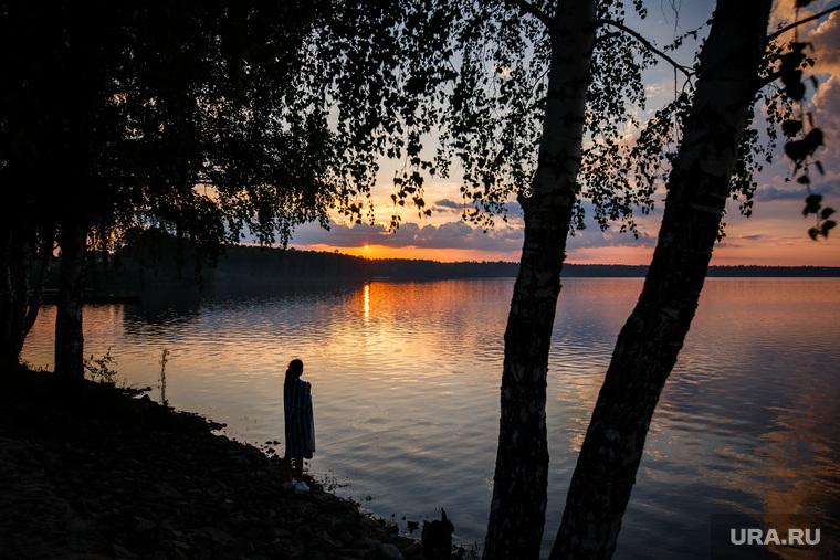 Пре-открытие «Огонь. Пляж» Балтым. Санаторный. Екатеринбург, закат, лето, балтым, озеро