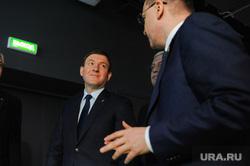 Андрей Турчак и Алексей Текслер на встрече с ветеранами. Челябинск