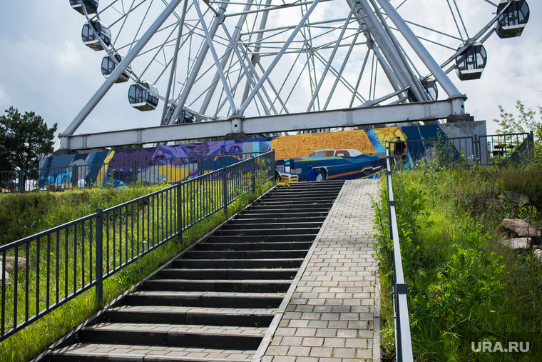 Арт-объекты фестиваля Стенограффия. Екатеринбург