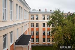 Торжественная линейка в школе № 106. Екатеринбург