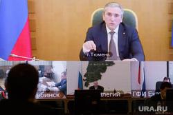 Совещание в полпредстве по распространению новой коронавирусной инфекции в УрФО. Екатеринбург