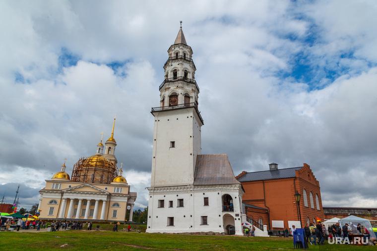 Клипарт. Свердловская область, невьянская башня, невьянск