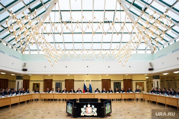 Заседание организационного комитета по подготовке и проведению празднования 300-летия Екатеринбурга, заседание, резиденция губернатора свердловской области