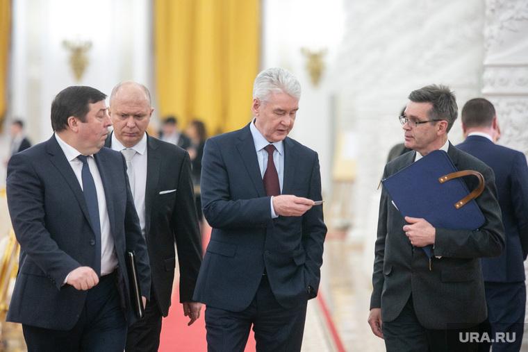 Госсовет в Кремле. Москва, собянин сергей