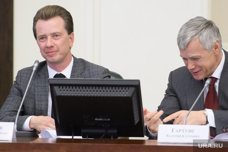 Совещание с представителями партий УрФО в полпредстве. Екатеринбург, бурматов владимир, гартунг валерий